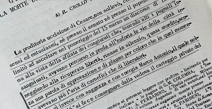 EDITING DEL TESTO (BASE)